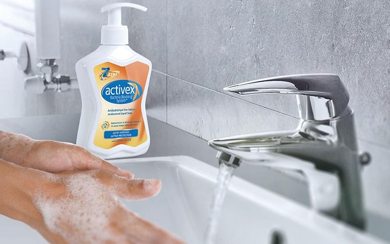 activex antibakteriyel sivi sabun